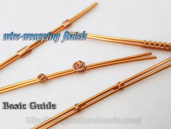 Some simple ways to wire-wrapping finish - Basic Guide 548