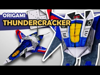 How to make a THUNDERCRACKER Transformer in 15 minutes