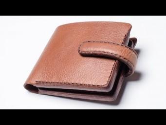 8c64a2faabf8 HandMade-изделия из кожи - Мужской кошелек. Классическое портмоне. Изделия  из кожи ручной