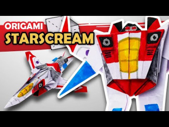 How to make a STARSCREAM Transformer in 15 minutes