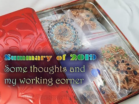 Summary of 2019 - Some thoughts and pictures of my working corner 523
