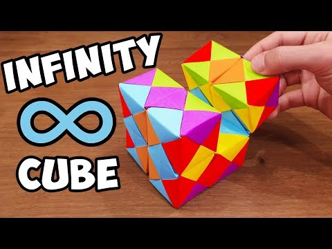 How To Make a Paper INFINITY CUBE | PPO