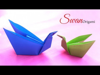 How to Make a Paper Easy Origami Swan Step By Step | DIY Paper Crafts Swan
