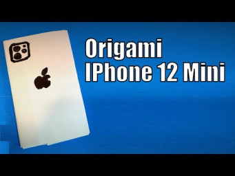 Origami IPhone 12 Mini | How to Make a Paper IPhone 12 Mini DIY | Easy Origami ART Paper Crafts