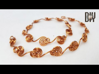Ocean waves | Bracelet | Anklet | not use stone beads | How to make | Wire Jewelry | DIY 563
