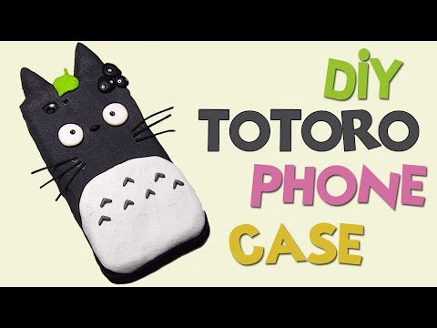 DIY ToToRo Phone Case Tutorial - How To Make ToToRo iPhone Case Cute