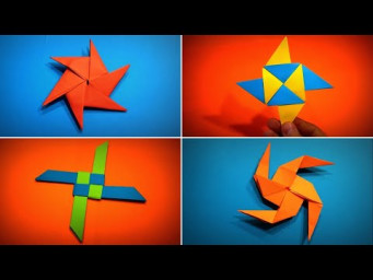 Origami Shuriken | How to Make a Paper Shuriken (Origami Ninja Star) | Easy Origami ART