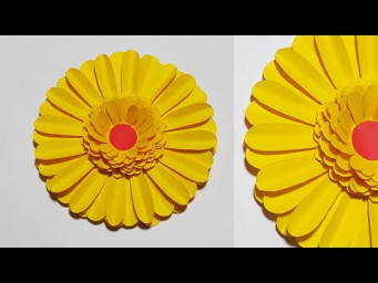 Beautiful Flowers Making With Paper | DIY Paper Flowers Instruction for Home Decor | Paper Craft