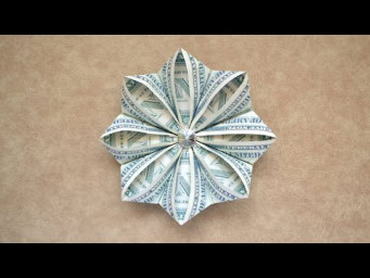 My MONEY FLOWER | Nice Modular Dollar Origami | Idea for Graduation | Tutorial DIY by NProkuda
