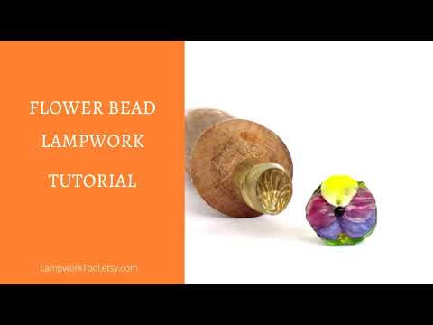 Flower bead tutorial