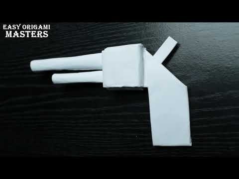 How to make a gun out of paper  Paper gun