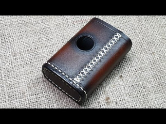 Кожаный чехол на Billet box rev4. Handmade Billet box leather case.