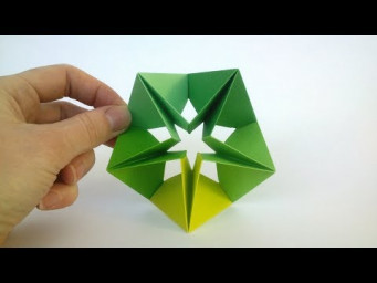 How to make a Modular Origami Star - Origami Step by Step (Easy)