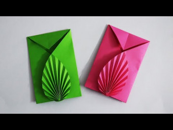 How to Make a Paper Envelope | Super Easy Origami Envelope Making Tutorial