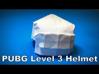How to Make a Paper PUBG Level 3 Helmet DIY | Origami Helmet | Easy Origami ART (by torself)