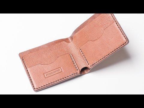 b852fa6976b2 Простой мужской кошелек. Изделия из кожи ручной работы Tissoleather.  Handmade leather men wallet. СМОТРЕТЬ ВИДЕОРОЛИК: