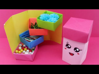 DIY Secret Gift Box | Stepper Box | How to make Gift Box? Easy Paper Crafts Idea | Origami Hacks