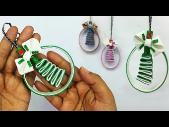 DIY Christmas Tree Ornaments | Ornaments Making Very Easy Tutorial | Christmas Decoration Ideas