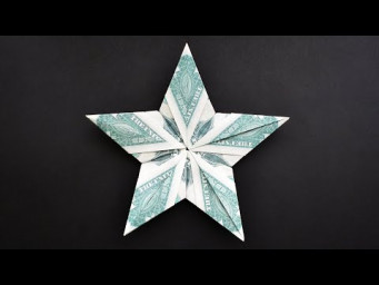Amazing MONEY STAR | Christmas decoration | Modular Dollar Origami | Tutorial DIY by NProkuda