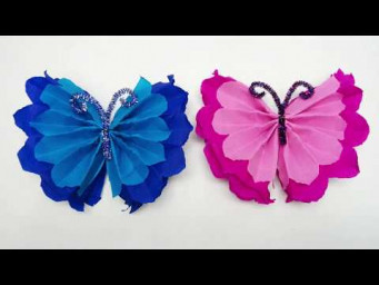 How to Make Easy, Beautiful Paper Butterflies