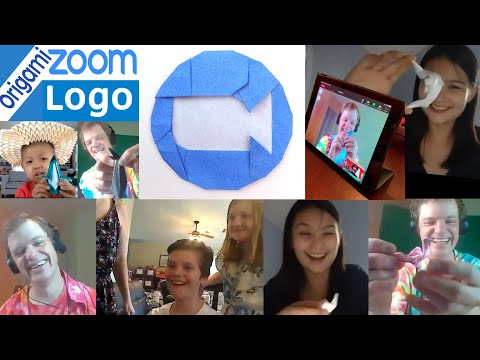 Origami Zoom Logo Tutorial + 31 New Models Demo & Contest