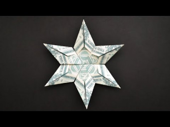 My MONEY STAR | Decoration for Christmas | Cool Modular Dollar Origami | Tutorial DIY by NProkuda