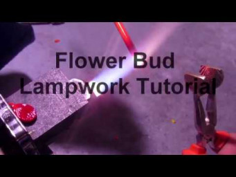 Lampwork Flower Bud Tutorial