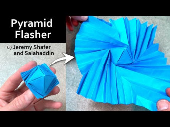 Origami Pyramid Flasher