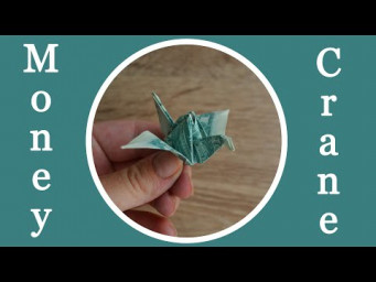 Amazing MONEY CRANE | Dollar Origami Bird | Tutorial DIY by NProkuda