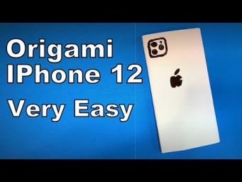 Origami IPhone 12 | How to Make a Paper IPhone 12 DIY | Easy Origami ART Paper Crafts