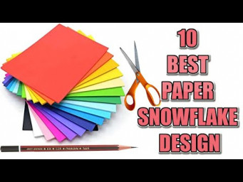 10 EASY PAPER SNOWFLAKE AND ORIGAMI IDEAS