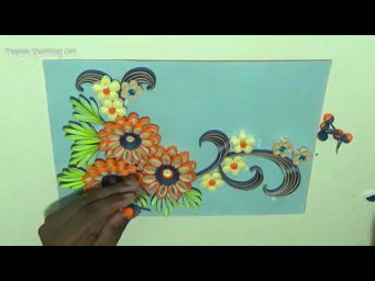 Birthday Card | Happy Birthday Card |How to make Birthday cards using quilling strips