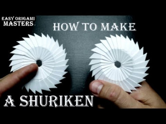 How to make a shuriken out of paper  Ninja weapons