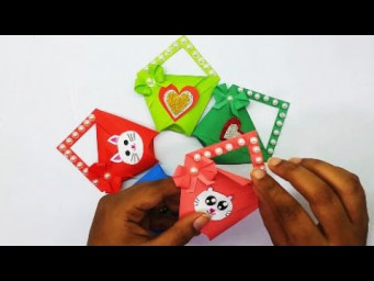 Paper Mini Gift Bag || How To Make Paper Gift Bag? DIY Christmas Gift Ideas || Origami Mini Gift Bag