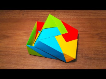 How To Make a Paper Gift Box - Origami
