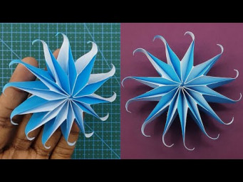 DIY Paper Snowflakes for Christmas Decor - Christmas Tree Ornaments