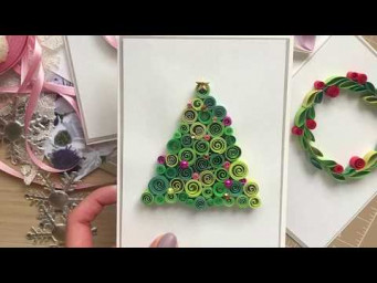QllArt | Quilling Christmas tree | Ёлочка в технике квиллинг