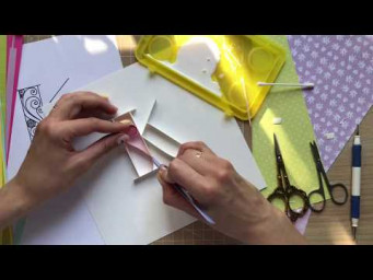 QllArt | Paper typography |  Letter K | Quilling Lettering | Квиллинг буквы