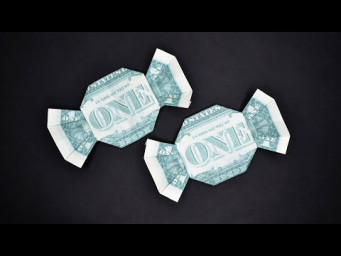 My MONEY CANDY | Sweet and Easy Dollar Origami | Tutorial DIY by NProkuda