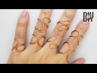 Simple Rings | no stone |  can be adjusted size | How to do | Handmade | DIY 582