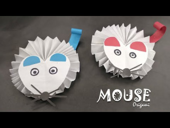 How to Make a Paper Origami Mouse | 折り紙 ねずみ 折り方 | Year of the Rat Crafts | Chinese New Year