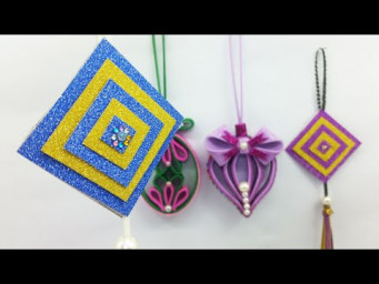 Room Decoration Ideas | Wall Hanging Ornaments Making Easy Tutorial | DIY Home Décor