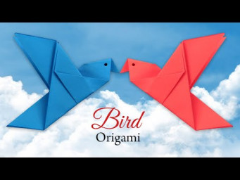 How to make a paper Bird - Easy Origami for Beginners Step by Step