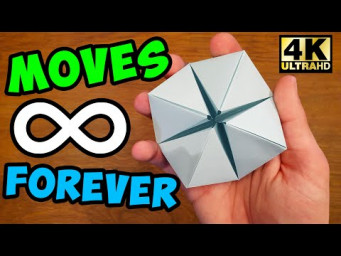 How To Make a Paper MOVING FLEXAHEDRON - Fun & Easy Origami