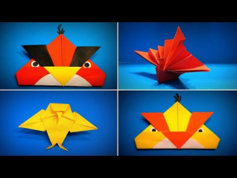 Origami Bird | How to Make a Paper Bird DIY | Origami Peacock | Easy Origami ART Paper Crafts
