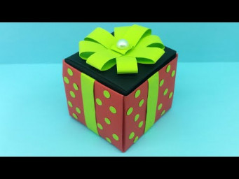Diy Gift Box Ideas / How To Make Gift Box ? Easy Paper Crafts / DIY Gift Box / Gift Box