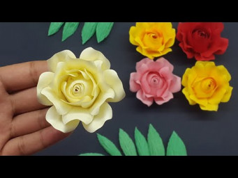 How to Make Realistic Paper Roses Easy
