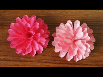 Simple and Beautiful Paper Flowers | DIY Flowers for Home Decor | Paper Craft