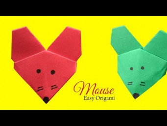 How to Make Easy Paper Mouse Origami For Beginners