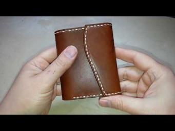 23ebf4ebe94f Простой мужской кошелек. Изделия из кожи ручной работы Tissoleather ...